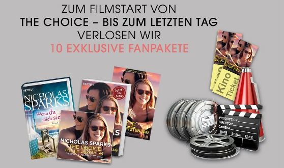 10x THE CHOICE exklusives Fanpaket gewinnen